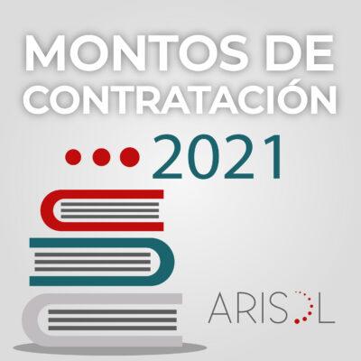 Montos de contratación 2021